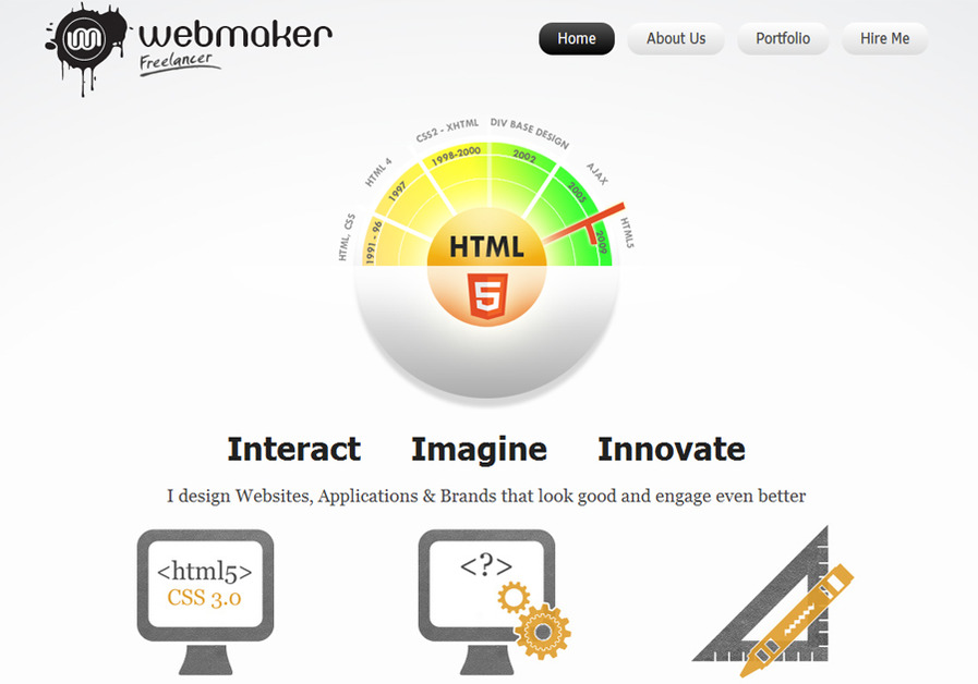 A great web design by wmfreelancer, Chandigarh, India: