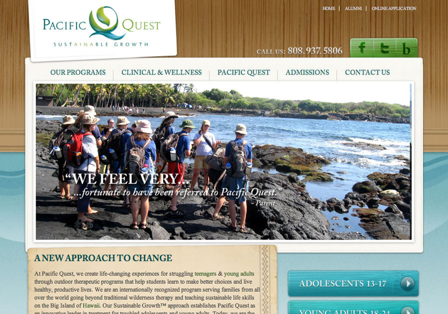 A great web design by NADA web design, SEO & social media, Honolulu, HI: