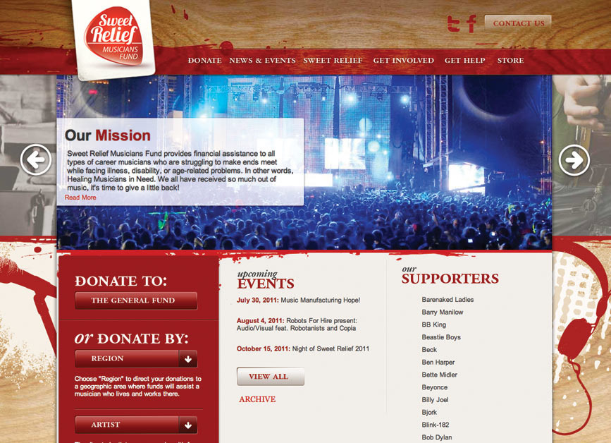 A great web design by NADA web design, SEO & social media, New Orleans, LA: