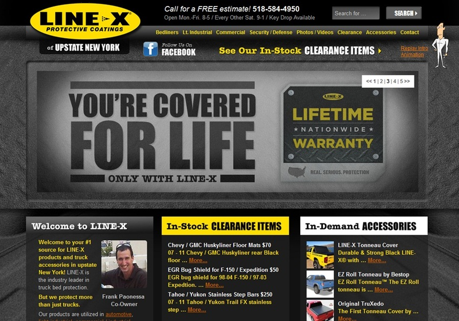 A great web design by Champion Theme Inc., Orange County, CA: