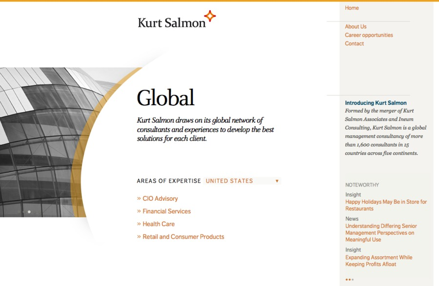 A great web design by Amy Peterson, San Francisco, CA: