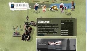 A great web design by Eye Bridge, Toronto, Canada: