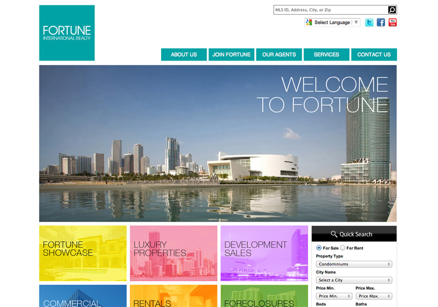 A great web design by Ciao Bella Marketing, Miami, FL:
