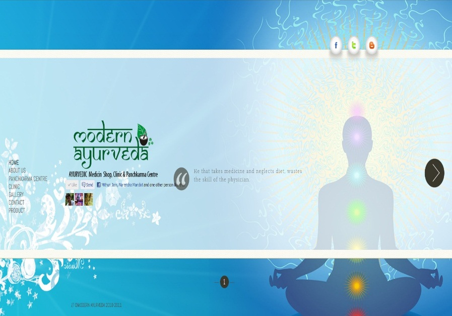 A great web design by Mithun Jain, Mumbai, India:
