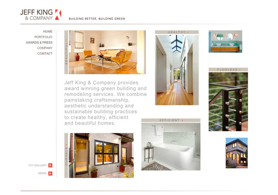 A great web design by DK Design Studio, Inc., San Francisco, CA: