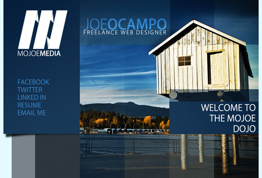 A great web design by MoJoe Media, Vancouver, Canada: