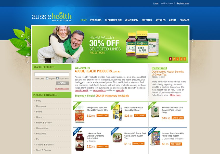 A great web design by Pixel House, Gold Coast, Australia: