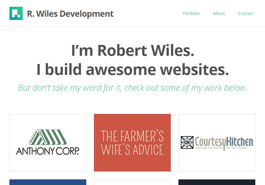 A great web design by R. Wiles Development, Hyattsville, MD: Responsive Website, Portfolio , Internet , PHP
