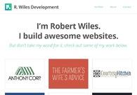 A great web design by R. Wiles Development, Hyattsville, MD: Responsive Website, Portfolio , Internet , PHP