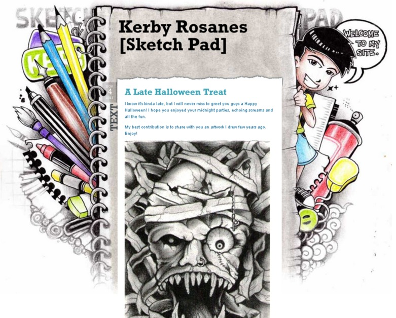 A great web design by Art, Design, drawing, sketching, Los Angeles, CA:
