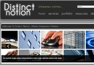 A great web design by Distinct Notion, Bangalore, India: