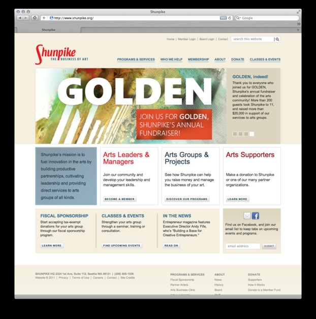 A great web design by Jason Justice, Seattle, WA: