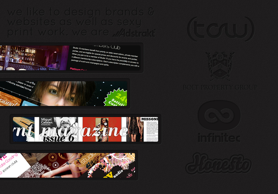 A great web design by Adstrakt, Malaga, Spain:
