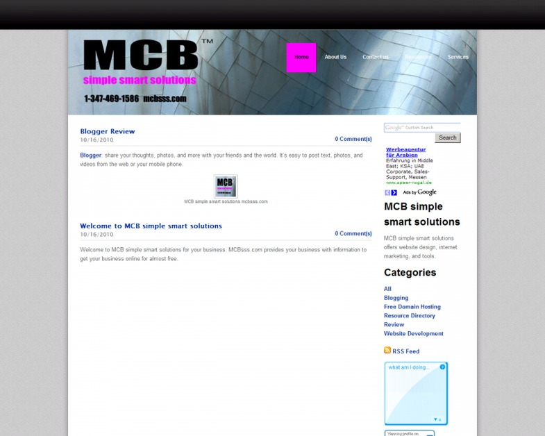 A great web design by MCB sell. satisfy. succeed., New York, NY: