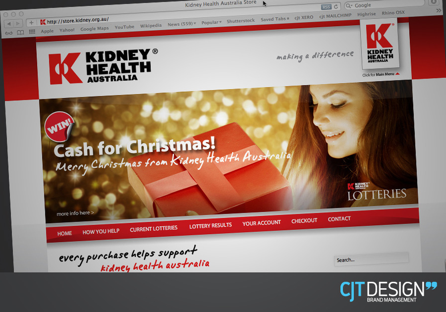 A great web design by CJT DESIGN, Sydney, Australia: