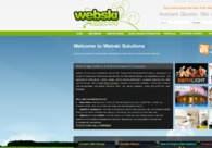 A great web design by Webski Solutions, NSW Sydney, Australia: