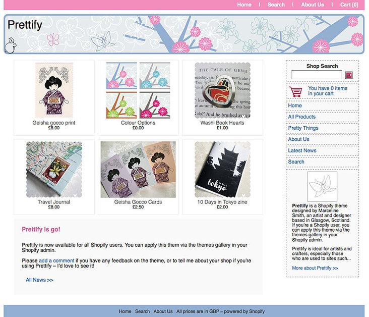 A great web design by Marceline Smith, Glasgow, United Kingdom: