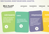 A great web design by WebStudio.Web.Tr, Istanbul, Turkey: