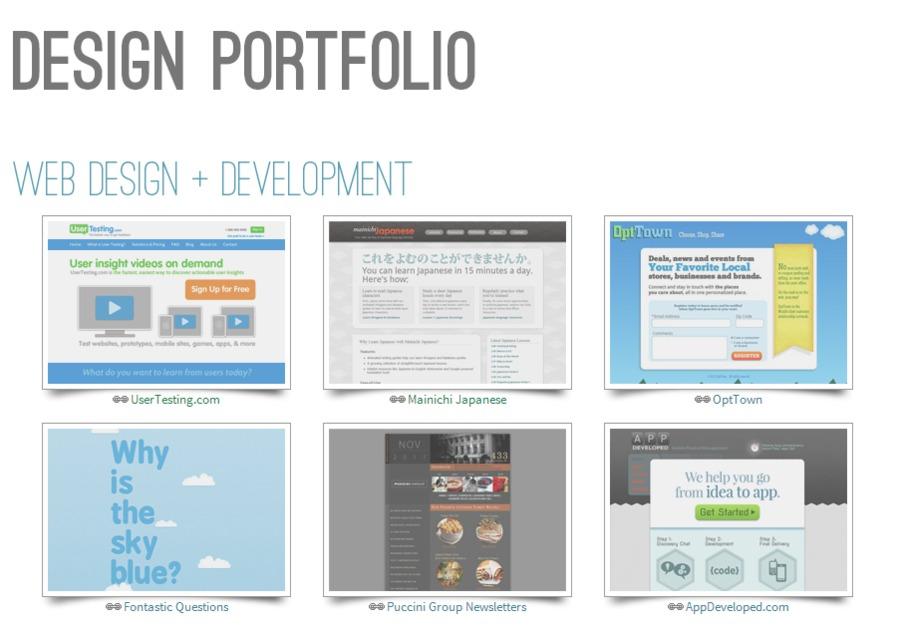 Ui Designers Portfolios