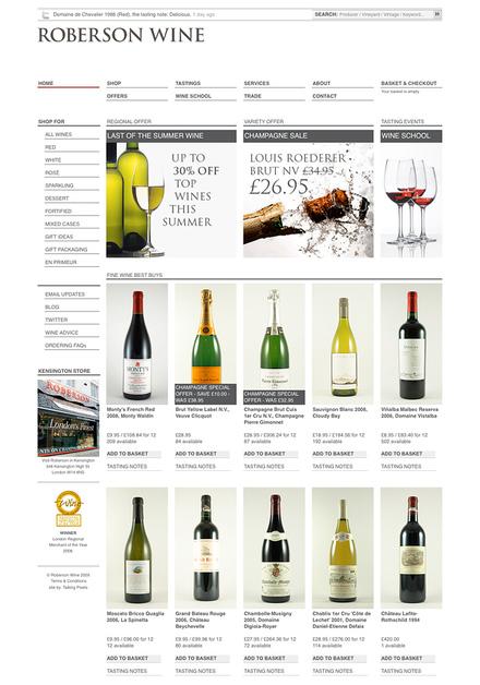 A great web design by Talking Pixels, London, United Kingdom: