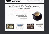 A great web design by Net Resolve, Warsaw, Poland: