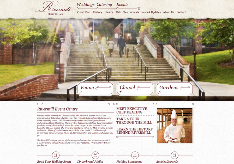 A great web design by V3 Media Group, Auburn, AL: