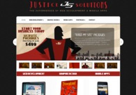A great web design by Justice Solutions, Orlando, FL: