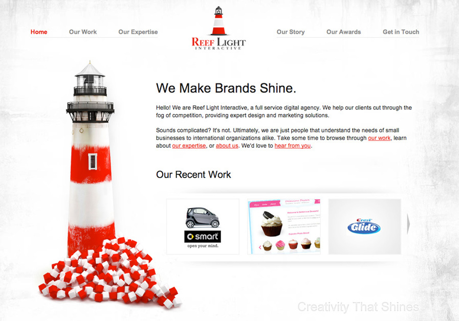 A great web design by Reef Light Interactive, Washington DC, DC: