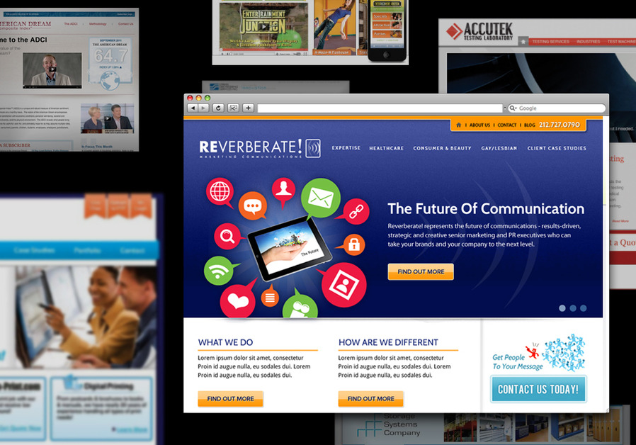 A great web design by Blue Kaboom Design, Cincinnati, OH: