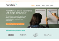 A great web design by Framefork, Lisbon, Portugal: