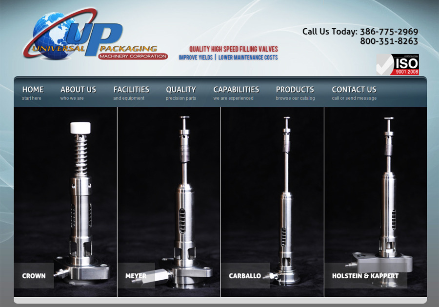 A great web design by Platinum Vue Studio, Dallas, TX: Website, Marketing Website , Manufacturing , PHP