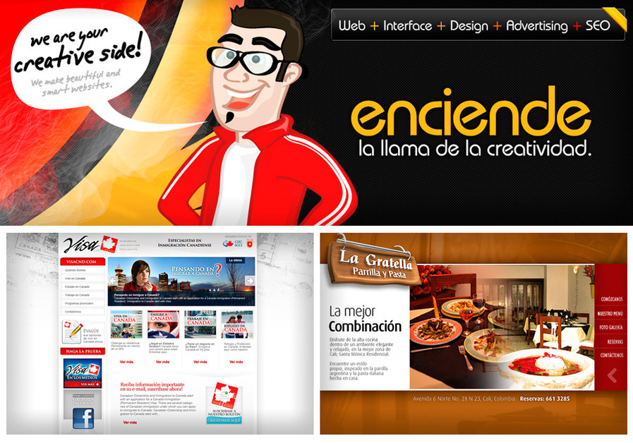 A great web design by enfoquegrafico, Los Angeles, CA: