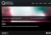 A great web design by Quantum Designs, New York, NY: