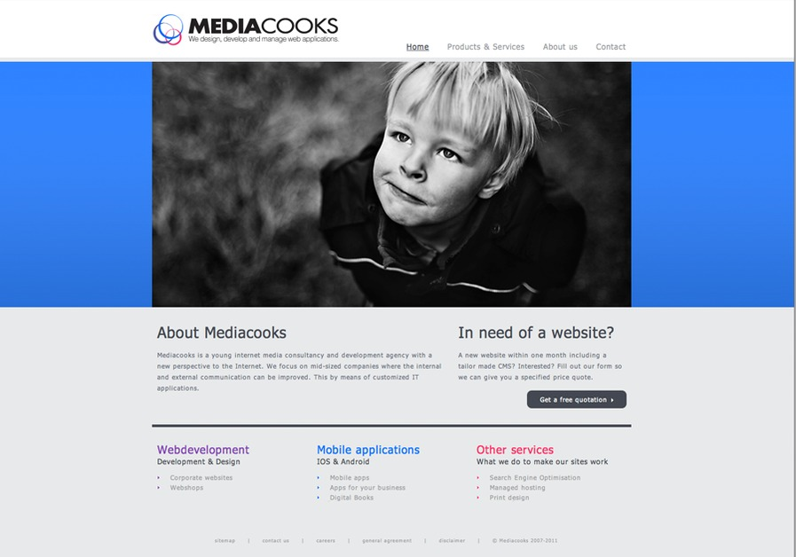 A great web design by Mediacooks, London, United Kingdom: