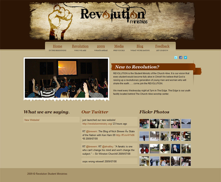 A great web design by Nick Brewer, Little Rock, AR: