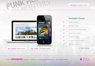 A great web design by Punk Monthly, Fort Myers, FL:
