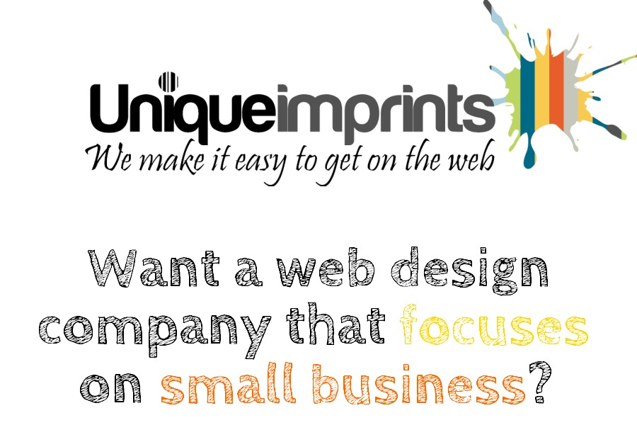 A great web design by Unique Imprints Pty Ltd, Brisbane, Australia: