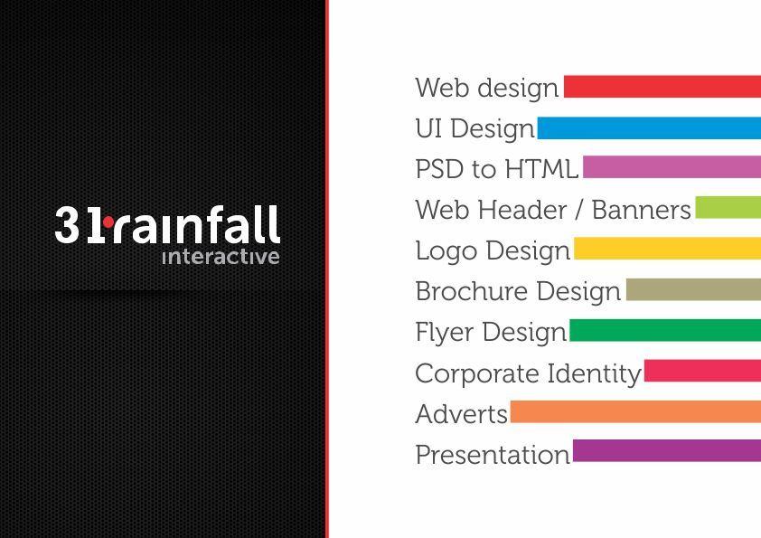 A great web design by 31rainfall Interactive, Chennai, India: