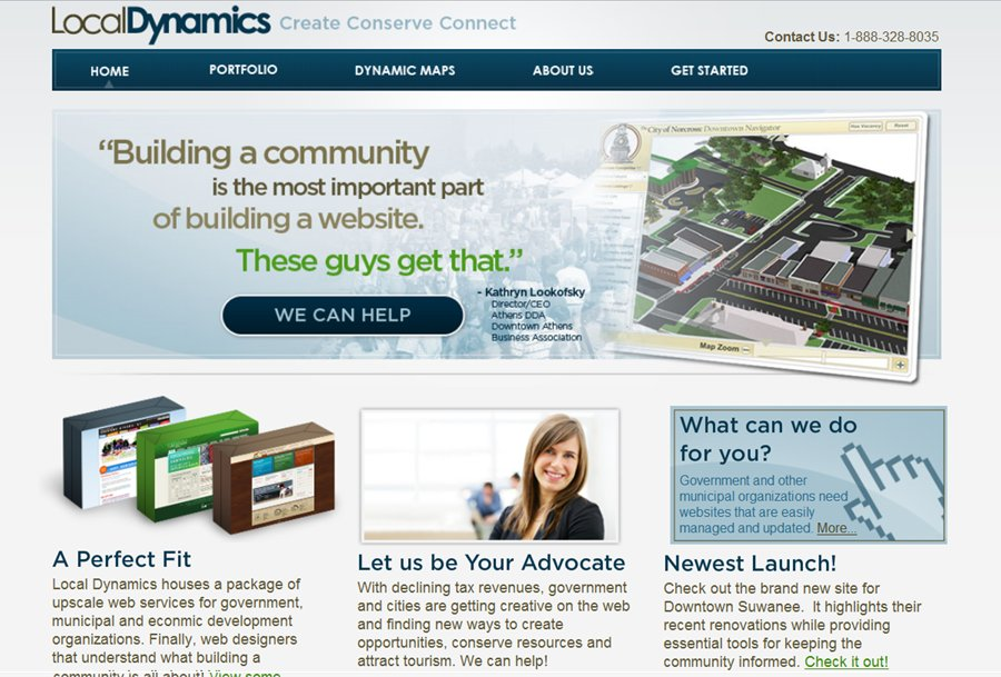 A great web design by Local Dynamics, Atlanta, GA: