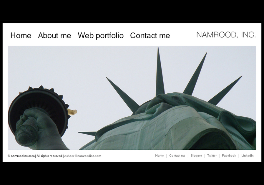 A great web design by Namrood, Inc., London, United Kingdom: