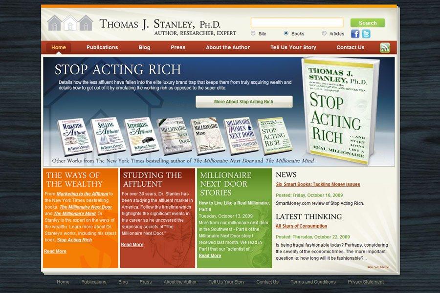 A great web design by J House Media, Atlanta, GA: