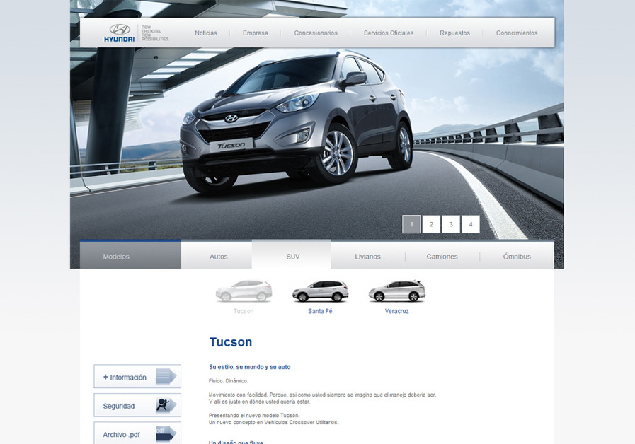 A great web design by Sodio, Montevideo, Uruguay: