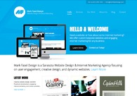 A great web design by Mark Fasel Design, Tampa, FL: