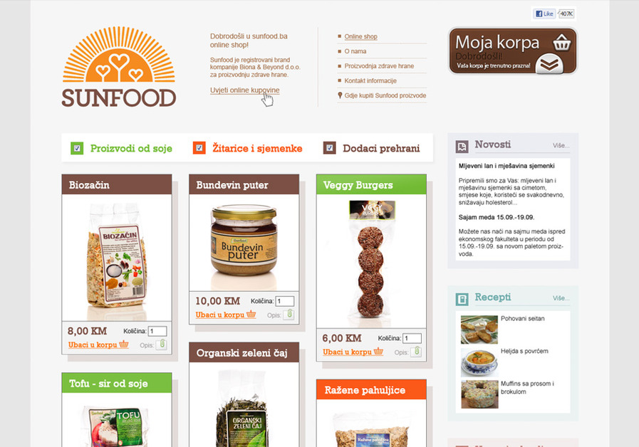 A great web design by Pauza, Sarajevo, Bosnia And Herzegovina: