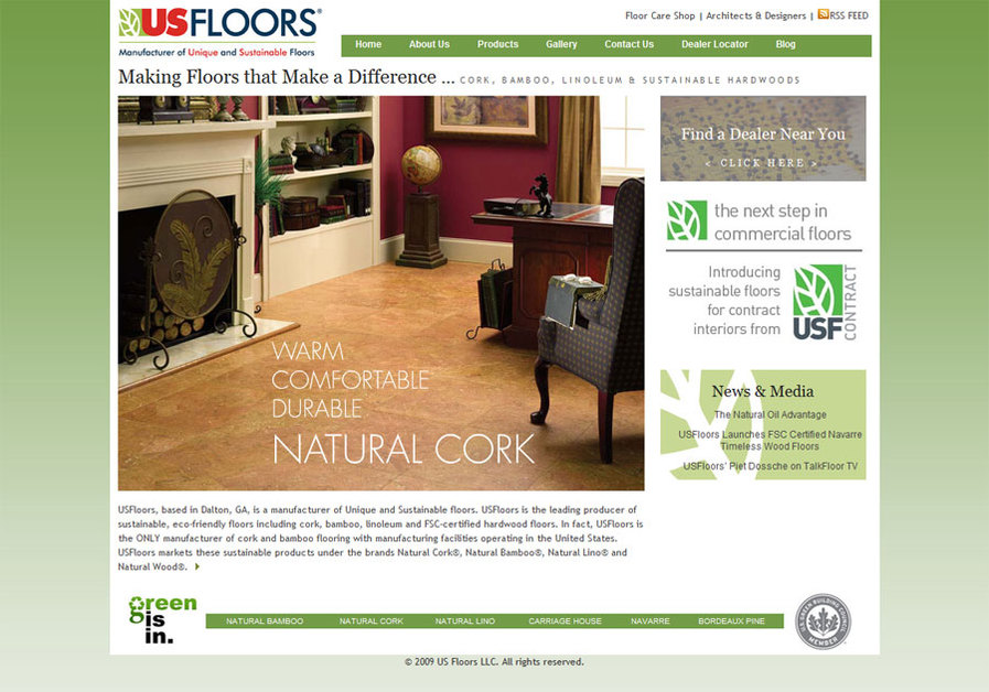 A great web design by Abraxas Web Design & SEO, Chattanooga, TN:
