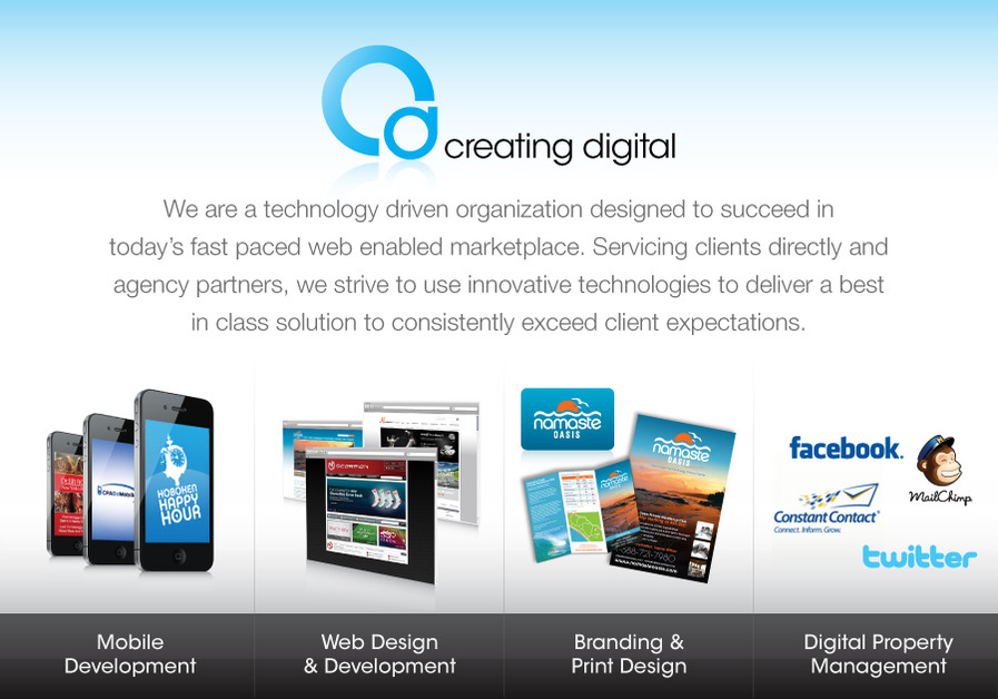 A great web design by Creating Digital, New York, NY: