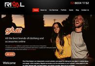 A great web design by Rival Web Design, Sydney, Australia: