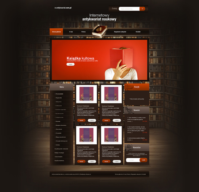 A great web design by KXdesing, Rzeszow, Poland: