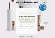 A great web design by Where good ideas come from?, Barcelona, Spain: