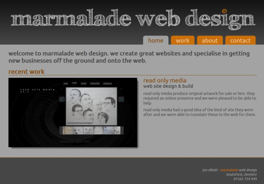A great web design by Marmalade Web Design, Manchester, United Kingdom: